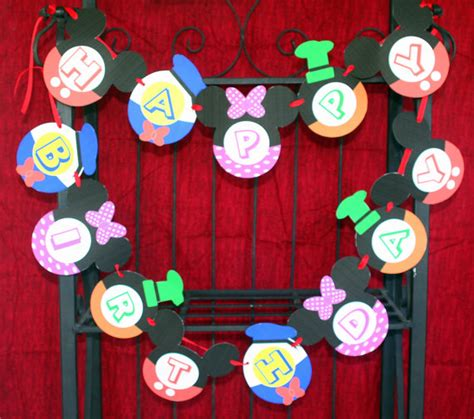 mickey mouse clubhouse printable birthday decorations mickey mouse clubhouse party printable collection mimi s