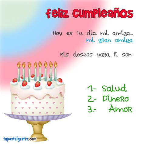 imagenes feliz cumpleaños amiga para facebook imagen gratis para facebook saludo de cumplea 241 os para una