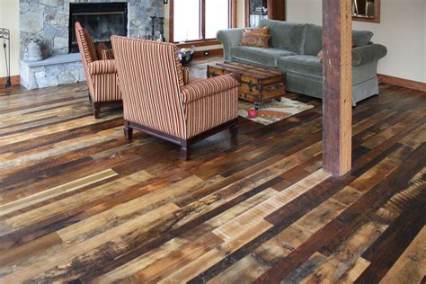 Distressed Flooring Techniques - weathering distressed wood flooring yonohomedesign