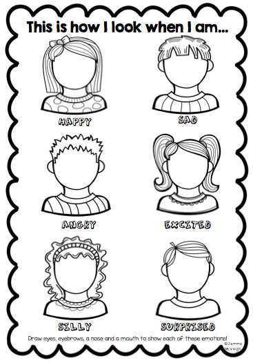 worksheets for preschoolers on emotions exploring emotions worksheet from miss mac s rockin