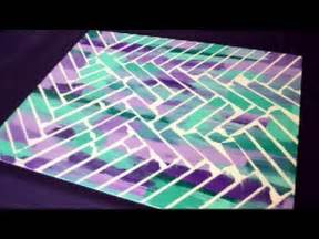 Easy Duct Tape Crafts For Kids - diy painter s tape canvas art youtube