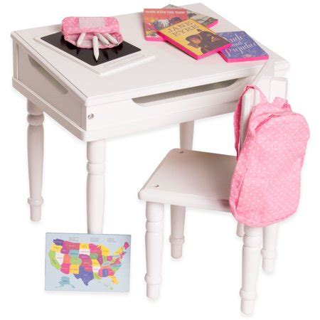 18 inch doll desk eimmie 18 inch doll furniture desk chair with classroom