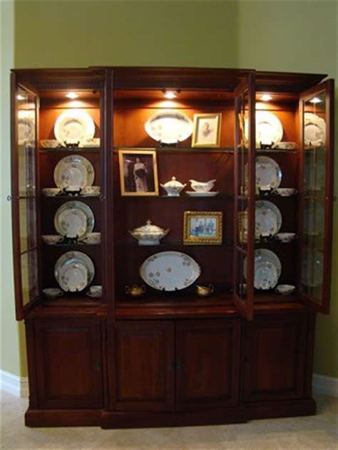 china cabinet displays home