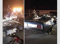 Photos: Kevin Hart Involved in Major Car Accident ... Kevin Hart Autounfall