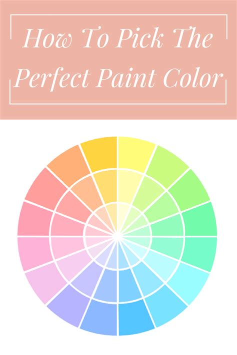 how to pick a paint color she s domestic how to pick the perfect paint color