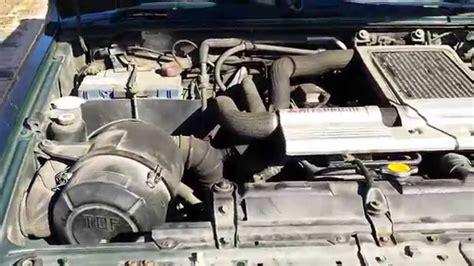 how do cars engines work 1999 mitsubishi pajero navigation system mitsubishi pajero 2 8td 1997 engine interiors youtube