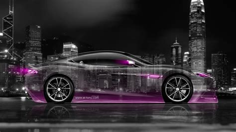 pink aston martin aston martin vanquish side crystal city car 2014 el tony