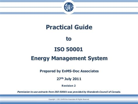 Effective Implementation Of An Iso 50001 Energy Management System Enms guide to iso50001