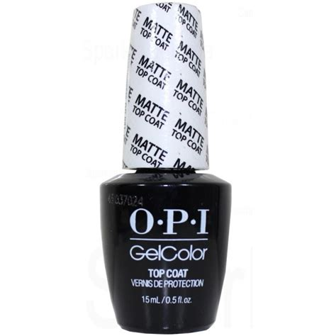 Opi Matte Top Coat opi gel color matte top coat by opi gel color gc031