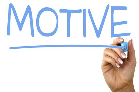 The Motive motive handwriting image