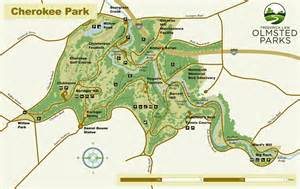park map frederick olmsted parks