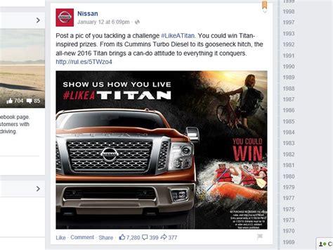Nissan Titan Sweepstakes - the nissan likeatitan sweepstakes