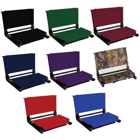 deluxe stadium chair stadium chair bleacher seat wsc1 deluxe model 3 quot wider