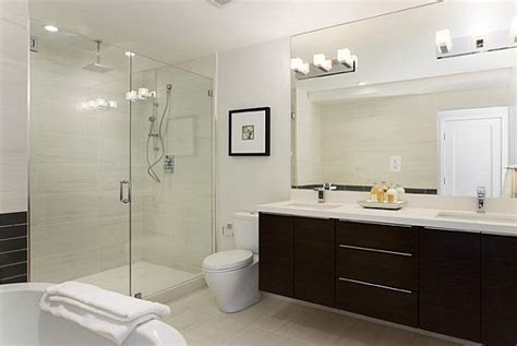 contemporary bathroom lights how to light a contemporary bathroom with wall sconces