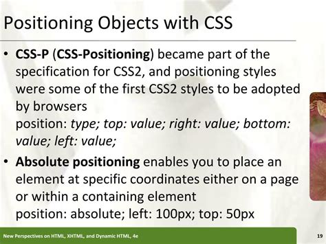 tutorial css ppt ppt tutorial 4 creating special effects with css