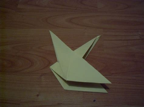 Fold Origami Bird - nesting bird 183 how to fold an origami bird 183 origami on