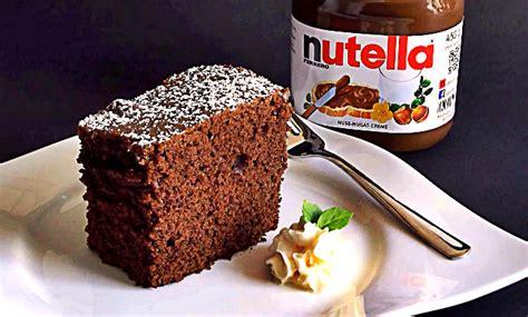 kuchen mit nutella backen mit nutella kuchen rezept aus meiner kindheit