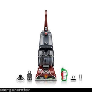 Auto Upholstery Shampooer Hoover Carpet Cleaning Machine Deluxe Power Cleaner