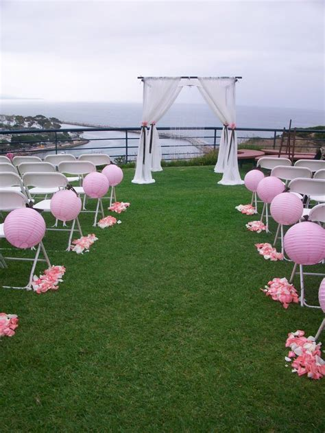Wedding Aisle Lined With Lanterns by 28 Best Outdoor Ceremony Ideas Images On