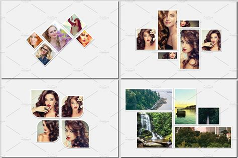 20x30 collage template images templates design ideas