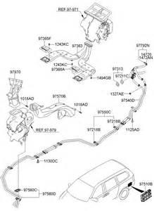 Kia Sedona Parts Kia Sedona Heater System Duct Hose