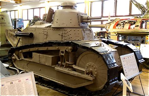 renault tank renault ft surviving army light tank