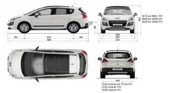 Peugeot 3008 Dimensions Peugeot 3008 Hybrid4 Meilleure Voiture Hybride