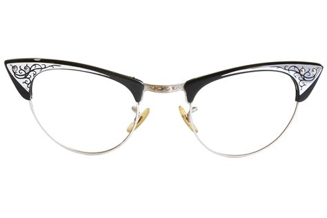 how to remove lenses from vintage cat eye glasses