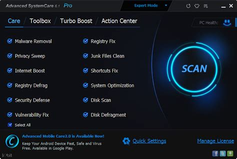 advanced systemcare for android gratis android advanced systemcare 6 pro key patch free version