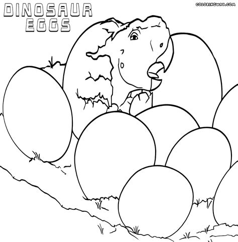 dinosaur eggs coloring pages coloring pages to download
