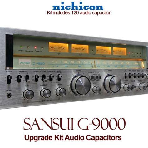 capacitor upgrade sansui g 9000 upgrade kit audio capacitors