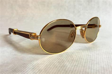 Sungglasses Kacamata Cartier T8200669 Box Sleting cartier giverny vintage sunglasses large size new stock set