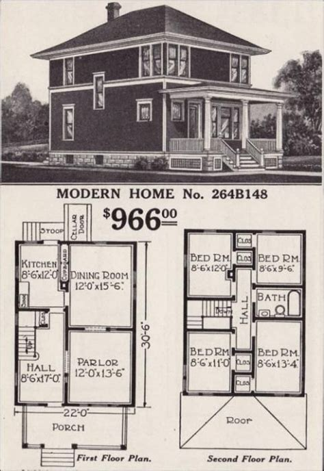 Story American Foursquare Brass Light Gallery American Foursquare House Plans Addition