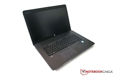 HP ZBook 17 G3 Workstation Review   NotebookCheck.net Reviews