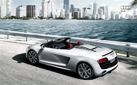 audi r8 spyder wallpapers and backgrounds
