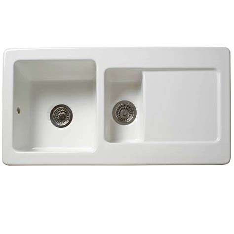 ceramic kitchen sinks uk reginox rl501cw ceramic sink kitchen sinks taps