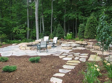 Backyard Patio Designs With Fire Pit Google Search Backyard Pit Landscaping Ideas