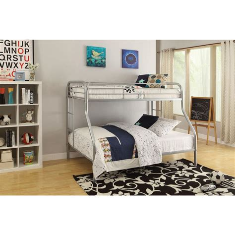 acme bunk beds acme furniture tritan twin over full metal bunk bed