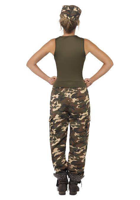 woman soldier costume female camouflage army costume womens soldier costume ideas