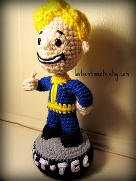 t plush bobblehead fallout 3 bobblehead for the mister geekery