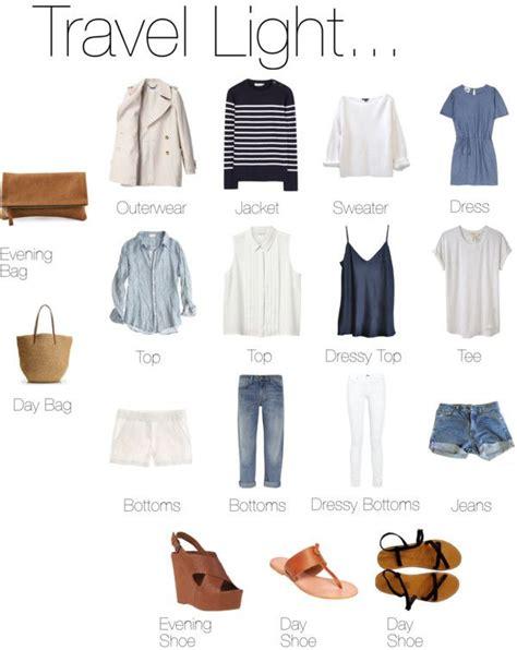 Travel Wardrobe Planner by Everyday Fashion Quot Travel Light Somewhere Warm