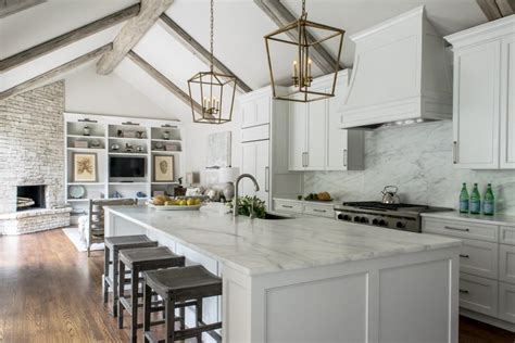 vaulted ceiling design white contemporary kitchen with vaulted ceilings hgtv