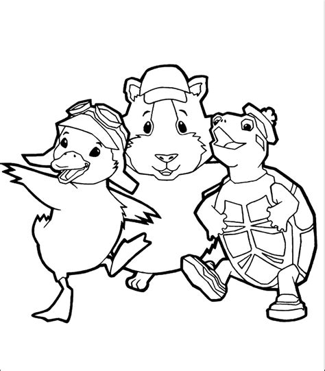 coloring pages of pets printable the gallery for gt nick jr face yellow