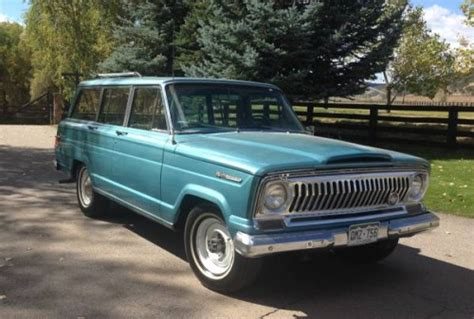 1960 jeep wagoneer 1968 jeep grand wagoneer v8 auto for sale in wolcott colorado