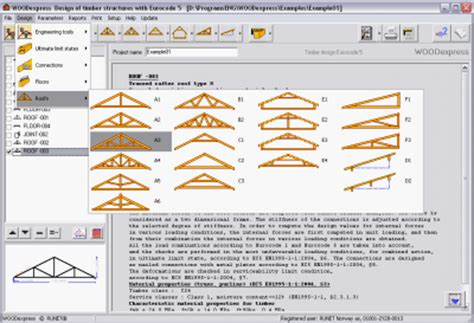 free wood truss design software quick woodworking projects