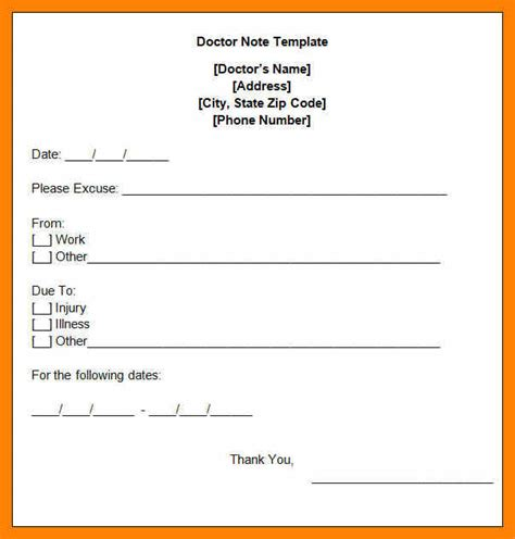 urgent care doctors note template 9 urgent care doctor notes rn cover letter