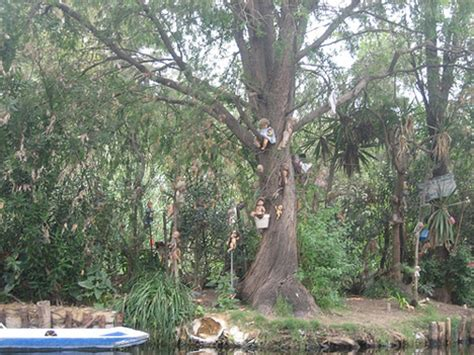 haunted doll forest in mexico mexico s creepiest tourist destination island of the