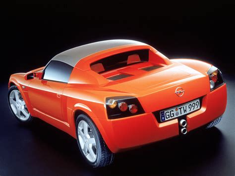 old opel roadster opel speedster concept 1999 old concept cars