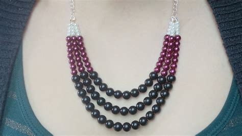 make a statement jewelry diy statement necklace