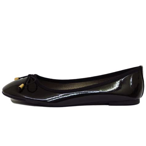 flat school shoes flat black patent slip on work school shoes dolly